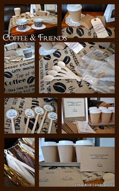 Little Bird Celebrations Party Ideas Supplies And Decorations Coffee Friends