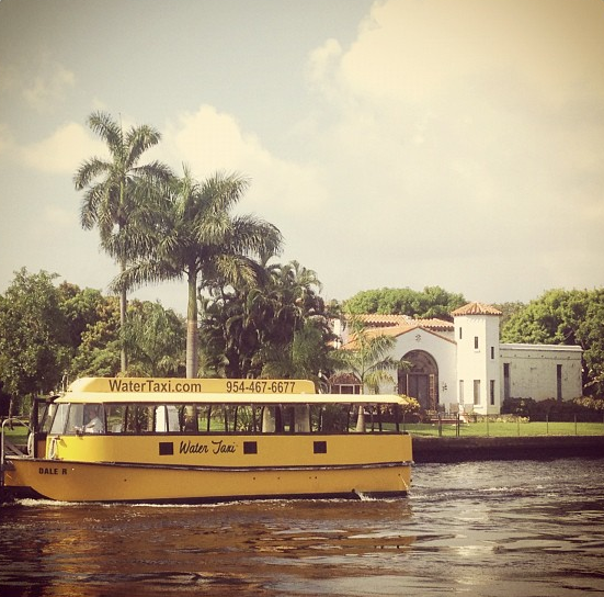 Las Olas Water Taxi Enables You To Enjoy The Waterfront Homes And