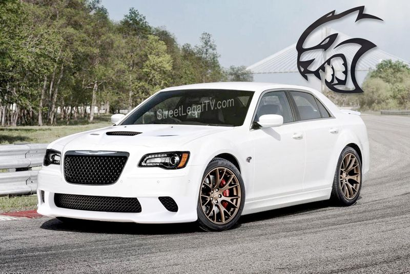 Breaking News Chrysler Gives Green Light To 300c Srt Hellcat