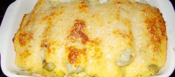 Met+wat+Parmaham+in+de+koelkast+en+witlof+die+echt+gegeten+moest+worden+ontstond+deze+heerlijke+Italiaanse+ovenschotel+witlof.+Zo+lekker+met+een+romige+bechamelsaus.