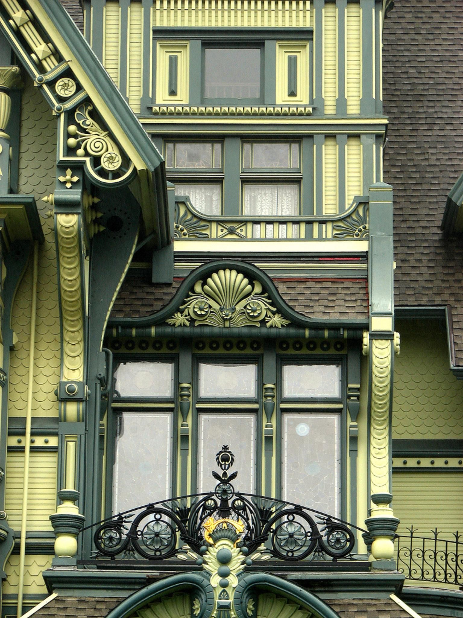victorian painted lady porch - photo #4