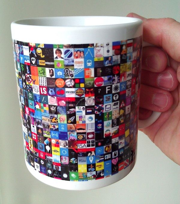 Time for a nice cup of WP7NL ! This custom mug features the tiles from our Windows Phone apps.