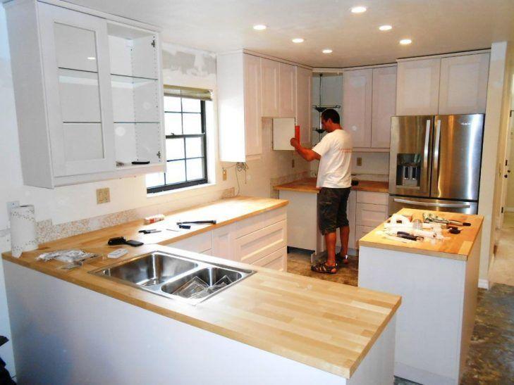 Küche Umbaut Ideen - Look für höhere aber schmale Regale und mix und