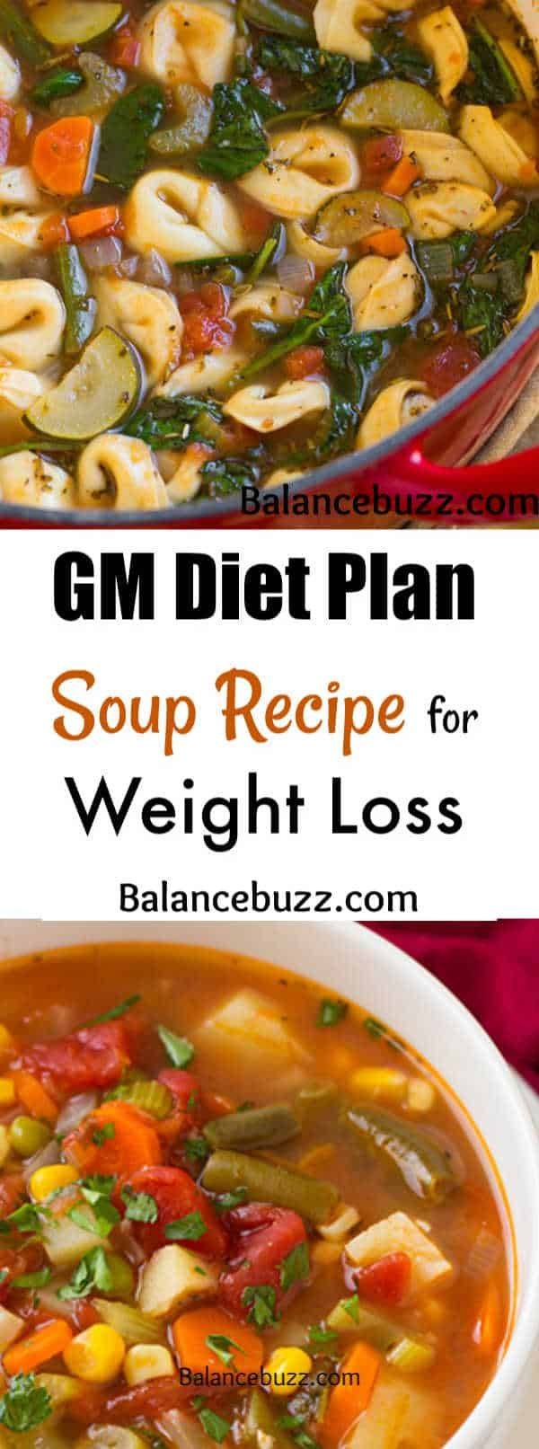 GM Diet Plan Soup Recipe for Weight Loss and Flat Belly