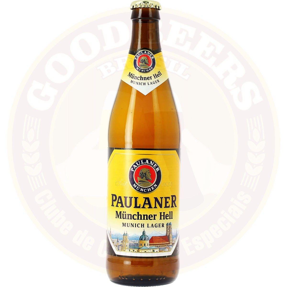 Paulaner Original Munchner Hell - 500 ml - Alemanha - País - Cerveja por - Good Beers Brasil