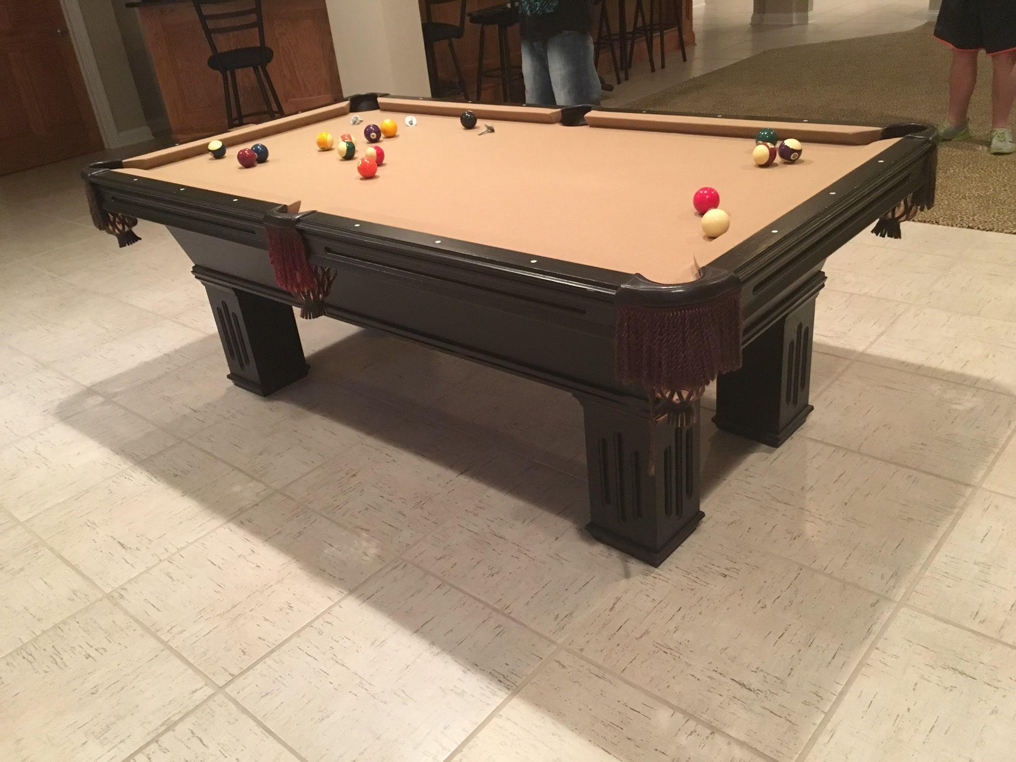 7' Olhausen Billiards Gem Pool Table | Pool table, Pool table