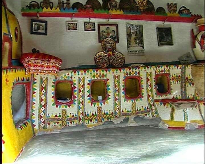 La maison ancienne kabyle .
