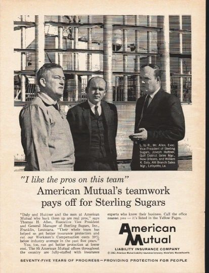 1962 American Mutual Liability Insurance Company Vintage Ad The Pros American Life Insurance Life Insurance Policy Liability Insurance
