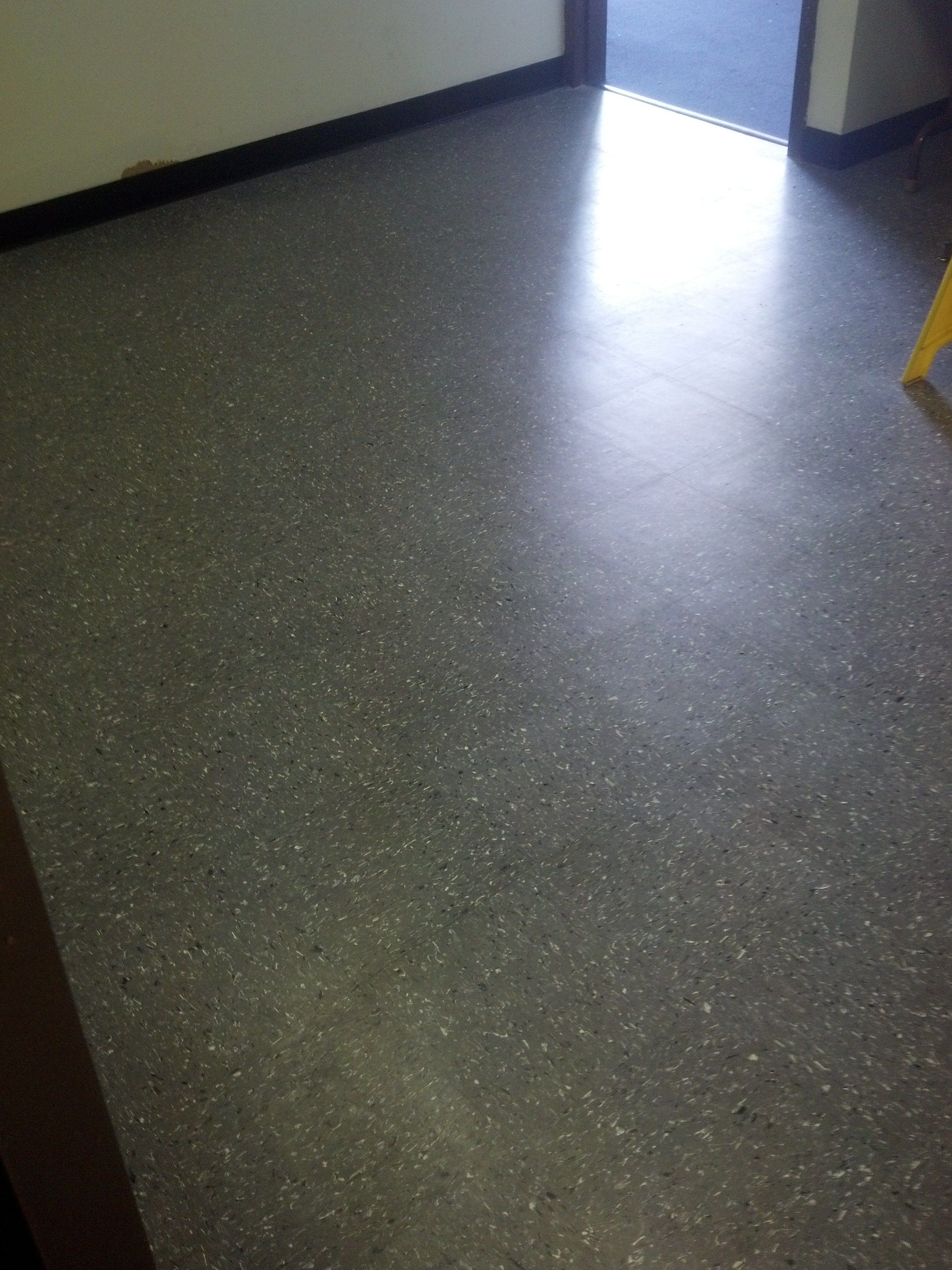 New 12 X 12 Azrock 18 Thick Commercial Floor Tile Installed By