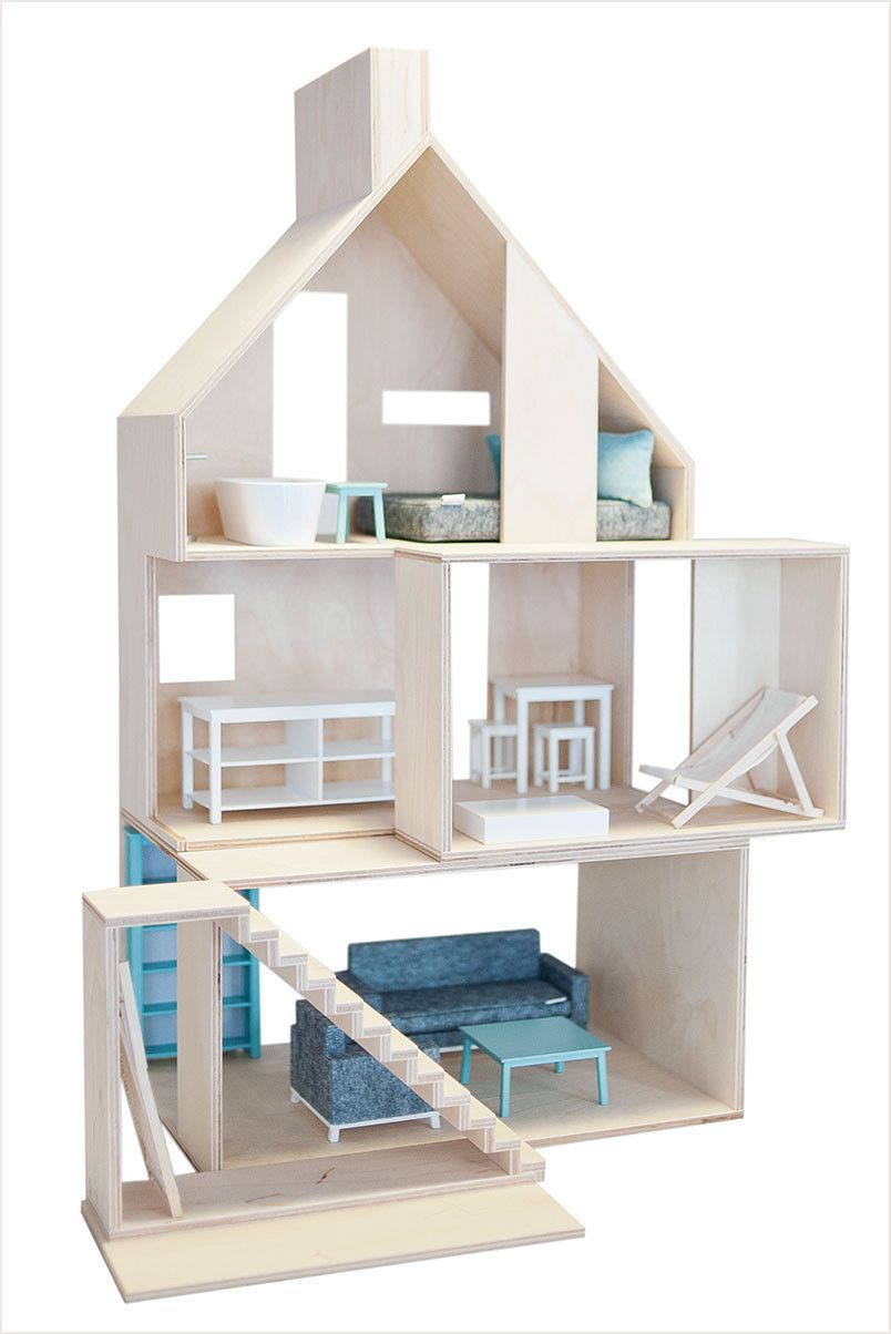 European wooden dollhouse ni os pinterest muebles for Euro muebles