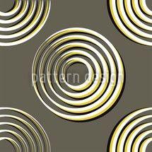 Hochqualitative Vektor-Muster auf patterndesigns.com - Gelbe Kreise Musterdesign, designed by Matthias Hennig, Deutschland