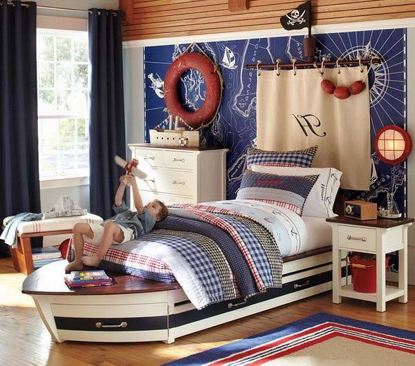 Beach Bedroom Decor For Kids Senses Of Casual And Relax On The