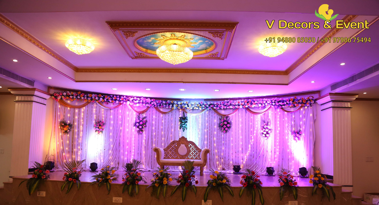 Reception Stage Decoration Backdrop Decorations In Cuddalore