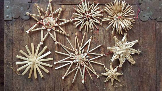 Swedish Straw Ornaments Swedish Christmas Swedish Christmas Decorations Christmas Decorations