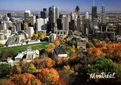 Overlooking part of McGill Campus!