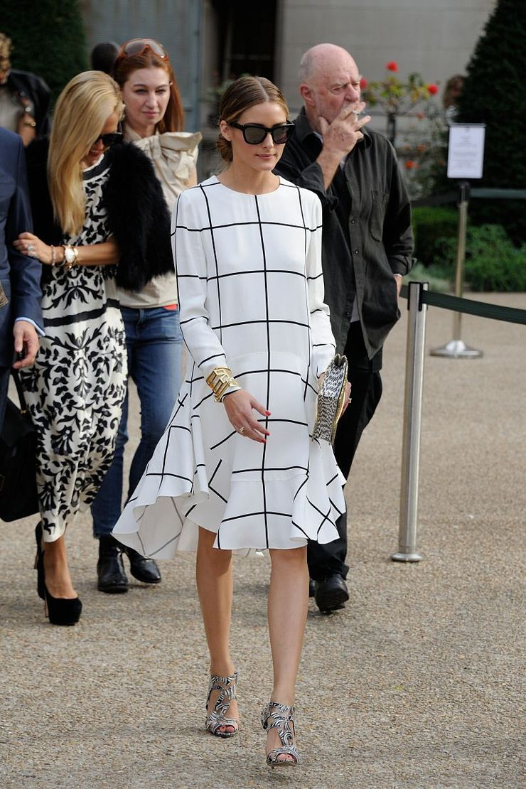 OOTD: Olivia Palermo in check print - Fashionscene.nl - Shop the look at http://www.fashionscene.nl/celebs/172275/ootd-olivia-palermo-in-check-print/