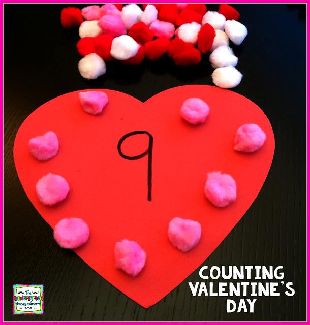 Valentine's Day math! Valentine's Day counting!