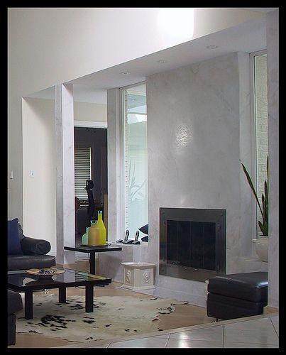 Venetian Plaster Fireplace Venetian Fireplace Refacing And Brick Fireplace