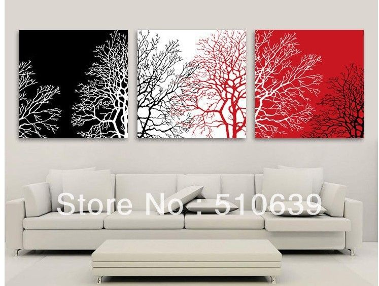Black White And Red Handmade Christmas Google Search Red Wall Art Black And White Wall Art Triptych Wall Art #red #wall #art #for #living #room