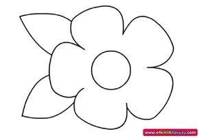 çiçek Kalıbı Boyama Sayfaları Keçe Pinterest Quilting For