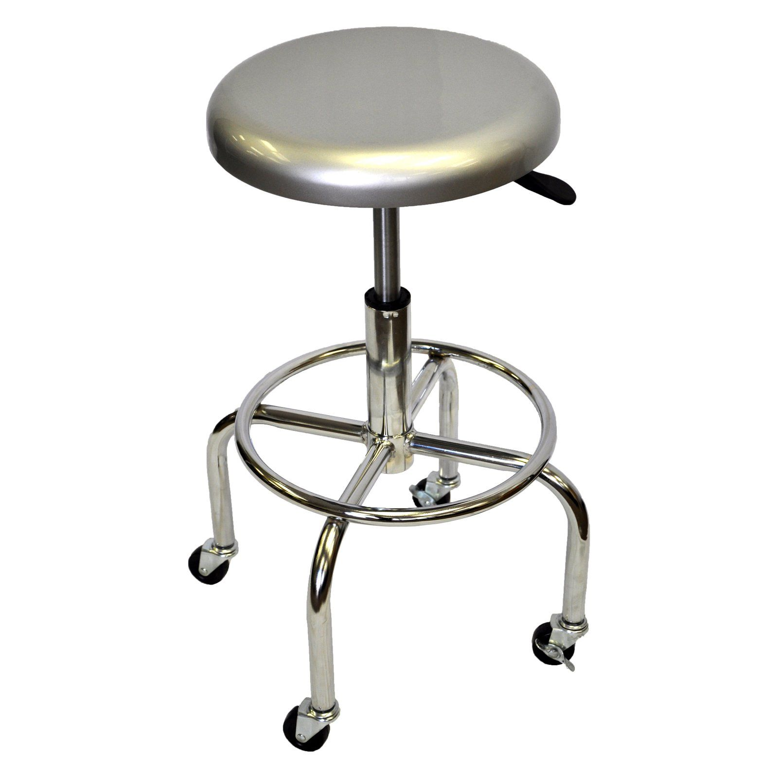 Trinity 28 In Adjustable Height Aluminum Work Stool Products In