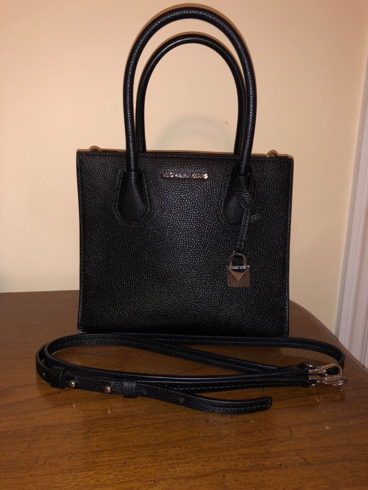 46c8638fb323 Michael Kors Black Mercer Crossbody #fashion #clothing #shoes #accessories  #womensbagshandbags (ebay link)