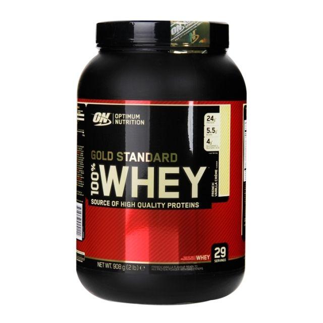 Optimum Nutrition Gold Standard 100% Whey Powder French Vanilla 908g Optimum nutrition gold