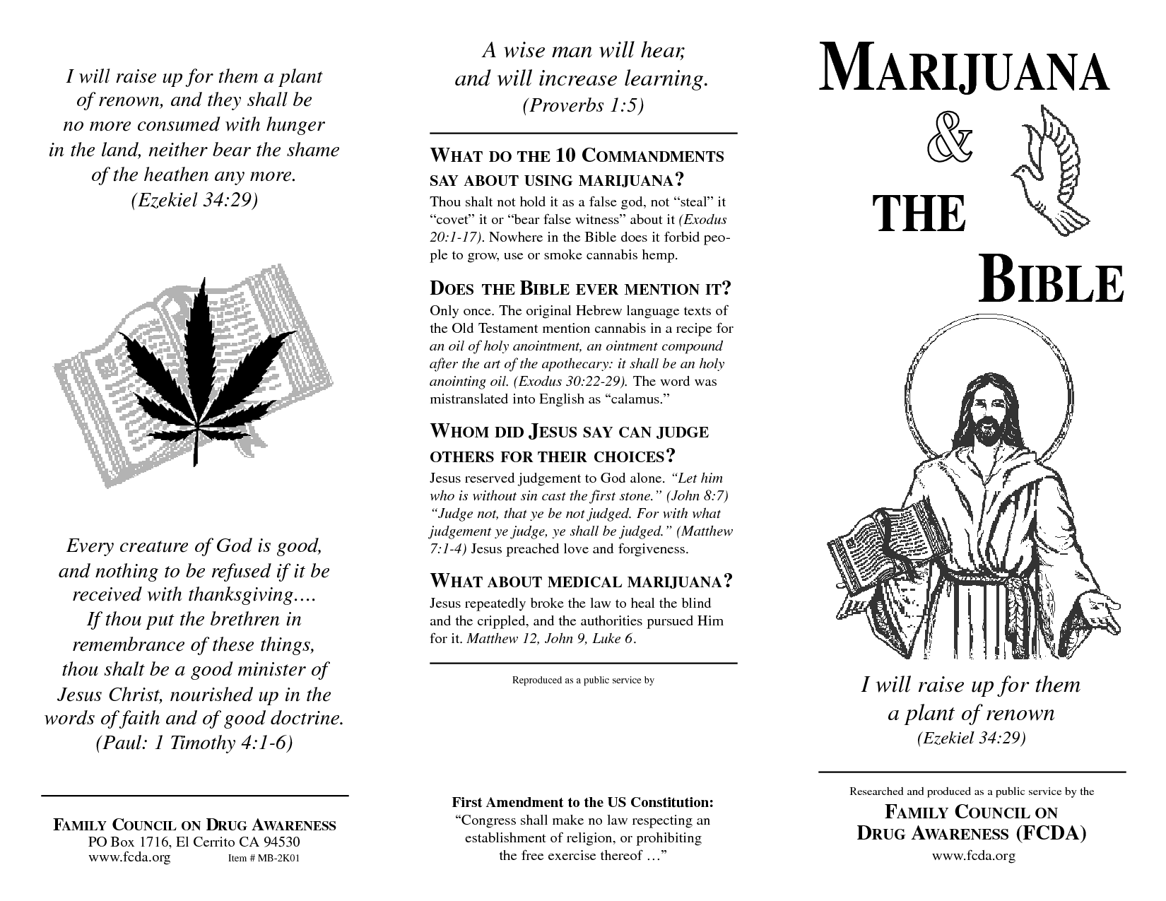004 what the bible says about guilt MARIJUANA THE BIBLE
