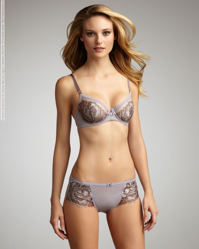 9919eb32edc Fabiana Semprebom for Neiman Marcus Lingerie Collection (Summer 2012) photo  shoot