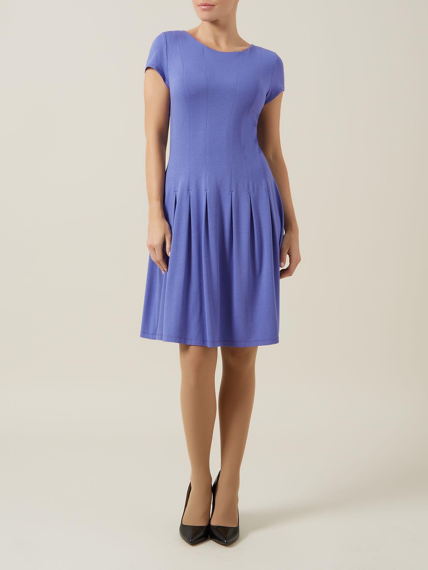 Purple Pleat DressPurple Pleat Dress