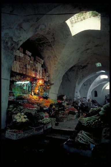 Market In Medieval Hall Old City Jerusalem Old City Jerusalem Medieval World Photo
