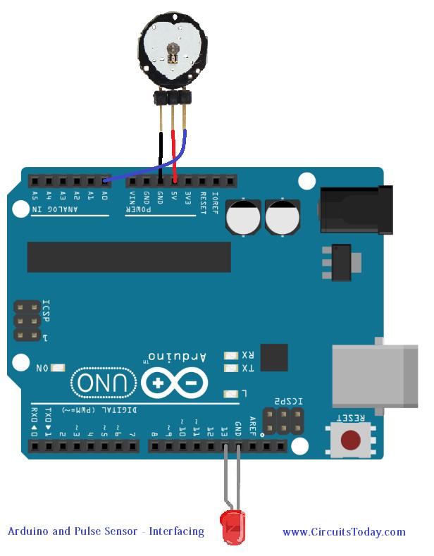 tutorial on pulse sensor and arduino interfacing learn how to read rh pinterest com
