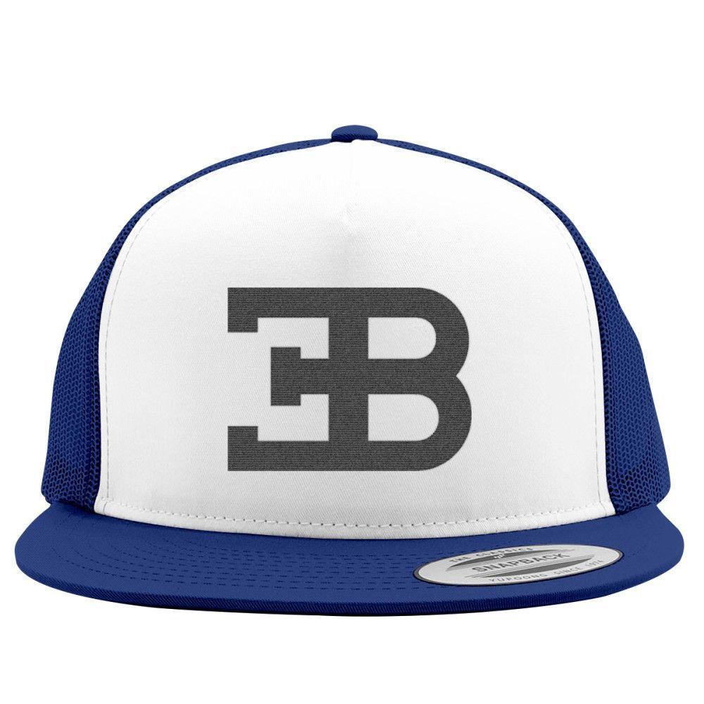 Bugatti Logo Embroidered Trucker Hat  694241dea829