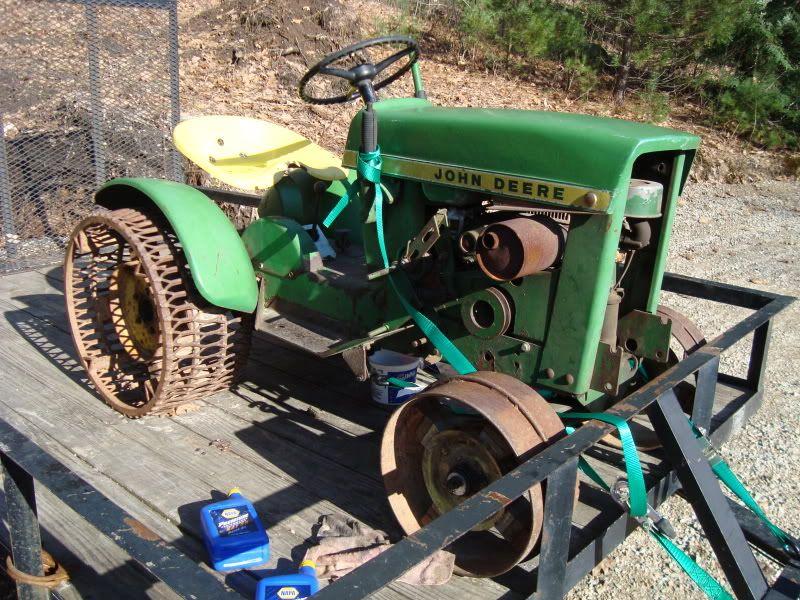 John Deere 110 On Steel W/pics   MyTractorForum.com   The Friendliest  Tractor