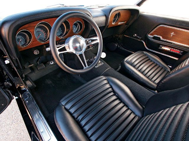1969 ford mustang sportsroof hot rod network - 1969 Ford Mustang Interior