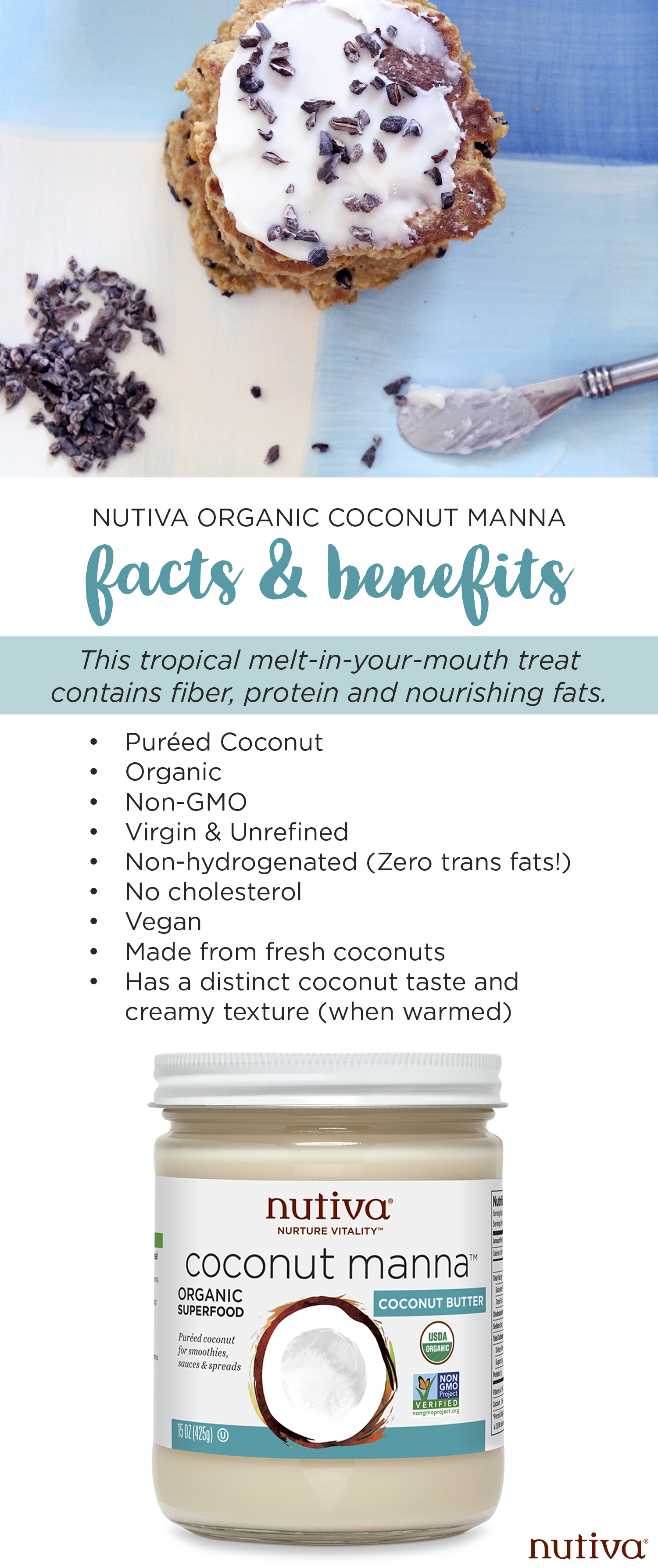 Your Complete Guide to Coconut Manna kitchen.nutiva.com Organic