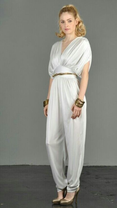 A bridal pantsuit is a cool alternative to a traditional dress and ...