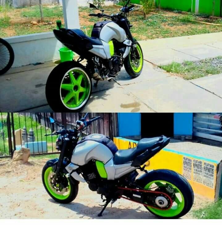 Yamaha Fz16 Seat Height