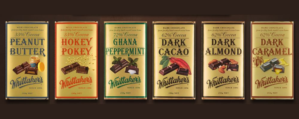 Whittakers Chocolate Chocolate Peppermint Chocolate Lovers
