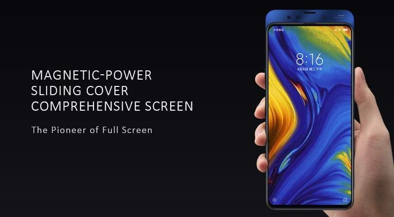 Xiaomi Mi Mix 3 Smartphone Global Version Black Color Is Now Available At Gearbest At Huge Discounted Price Get 6gb 12864gb Vers Xiaomi Global Latest Tech
