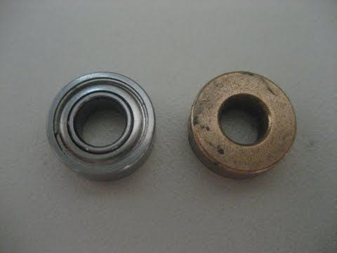 RC Car Bearings VS Bushings - Comparison