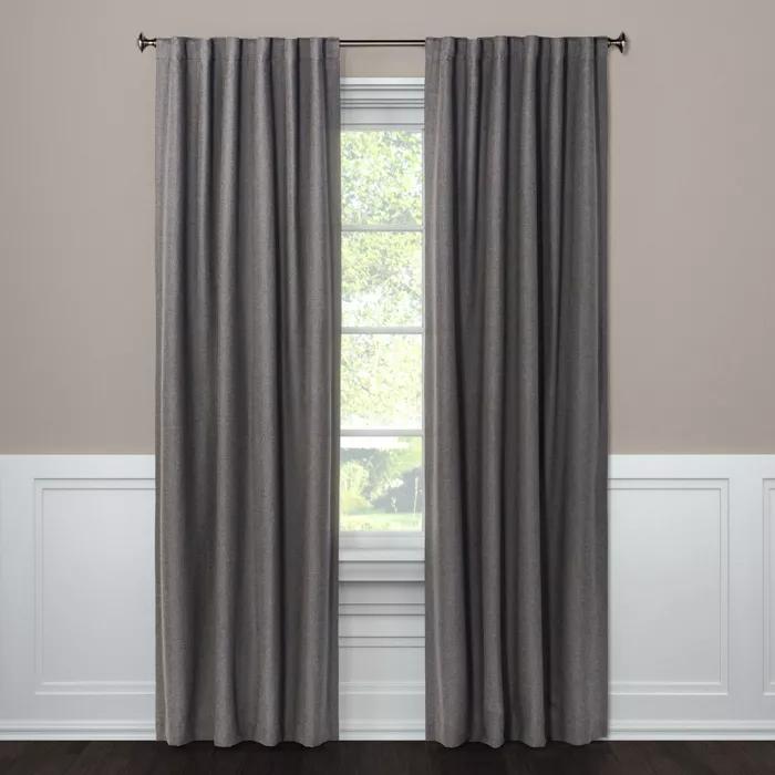 Aruba Blackout Curtain Panels Threshold In 2020 Panel Curtains Curtains Blackout Curtains