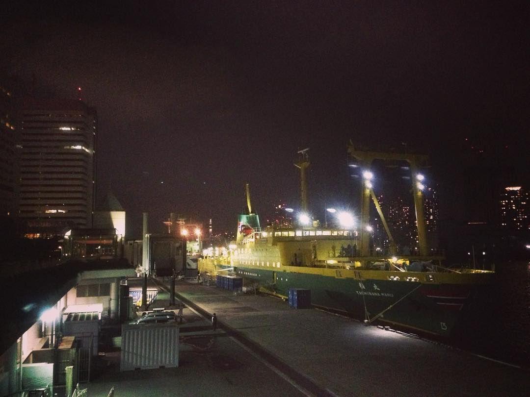Bye-bye #Tokyo ... En mode bateau pour la nuit! On se revoit demain quelque part au #Japon _ by tunimaal #travel #japan