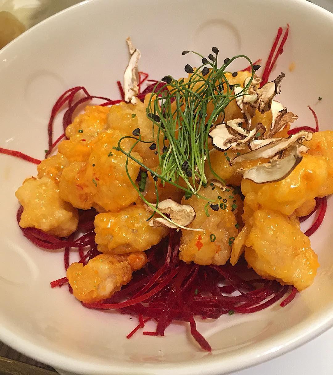 Rock shrimp tempura at Nobu  by annarfasano