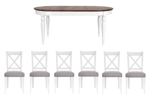 This is stunning and would be great for our family as offers 6 seats. Ideal for family entertaining.