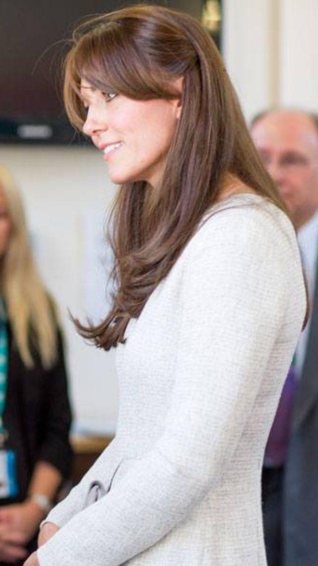 Kate Middleton Side Fringe Beauty Pinterest Hair Hair Styles