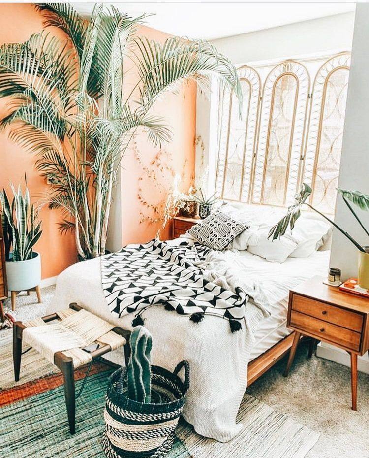 Pin By Samantha Hammack On Bed In 2019 Bohemian Bedroom