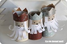 TP Roll Three Wise Men - Christmas Craft