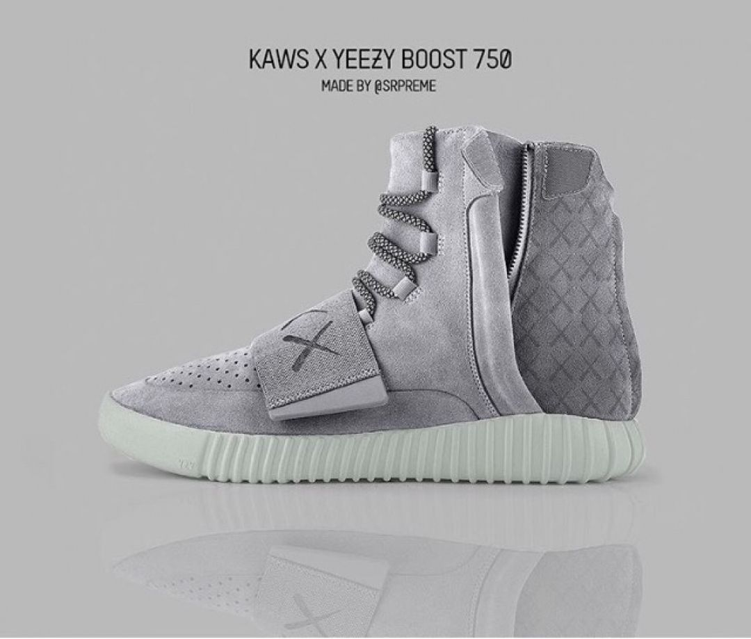 5527f4cf4 Who would cop if released these KAWS X Yeezy Boost by  srpreme   customizerdepot