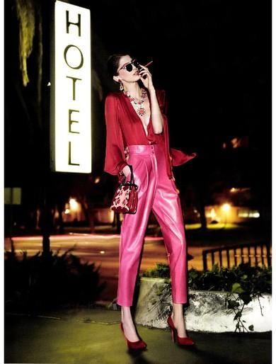 Kristina Salinovic - Ph. Glen Luchford - Femme Fatale (Vogue Paris - april 2012)